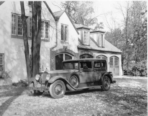 Automobile at Garage